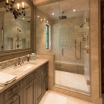 Beaver-Creek-Chateau-master-bathroom-vanity-and-shower-custom-tile