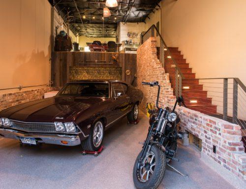 Custom Man Cave Auto Storage
