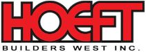 Hoeft Builders West Logo